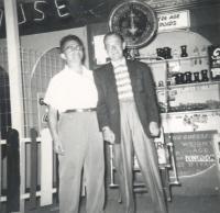 Dave Glovsky, Jimmy Dorsey, Old Orchard Beach, 1956