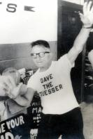 Dave the Guesser Glovsky, Old Orchard Beach, 1958