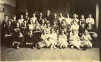 Graduates, Gouldville Elementary, Presque Isle, 1922
