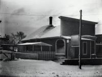 Philpot's Studio, Kimball Street, Sanford, ca 1905