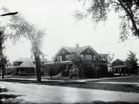 Jagger, Nutter and Watson homes, Main Street, Sanford, ca 1905