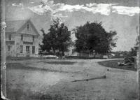 Early View of Sanford Corner, Sanford, ca 1880