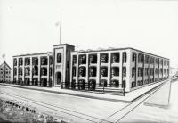 Sketch for a New Mill, Washington St., Sanford