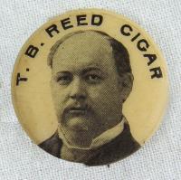 Thomas Brackett Reed lapel pin