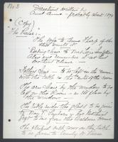 Anne Longfellow Pierce instructions, ca. 1900