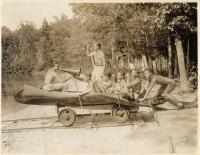 Counselors, Camp Ettowah, Fryeburg, 1934