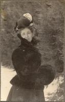 Mary Weston Post, Fryeburg, ca. 1900
