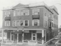Cooperative Block, Washington Street, Sanford, ca 1906