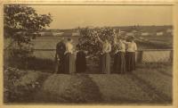 House and Garden, Presque Isle, ca. 1900