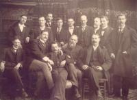 Men's Group, Presque Isle, ca. 1910