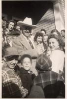 Hopalong Cassidy Visits Fryeburg, ca. 1947
