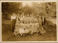 West Fryeburg School Children, 1913