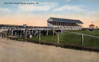 Caribou Trotting Park and Grand Stand, Caribou, ca. 1900