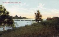Power Dam on Aroostook River, Caribou, ca. 1920