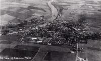 Aerial view of Caribou, c. 1932