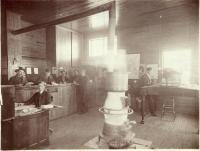 Bangor and Aroostook Train Station, Presque Isle, ca. 1908