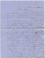 Sarah F. Sanborn letter to Peter Sanborn, 1857