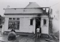 Fire, Bar Harbor, ca. 1960