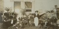 Lillian Nordica after concert in Australia, 1913