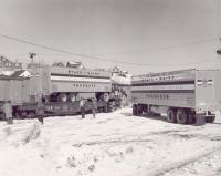 Bangor and Aroostook Railroad Piggyback Service, Presque Isle, 1984