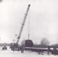 White House Christmas Tree, Presque Isle, 1959