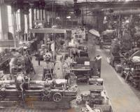 Derby Machine Shop, Bangor and Aroostook Railroad, c. 1960