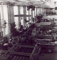 Bangor and Aroostook Railroad's Derby Machine Shop, c. 1960