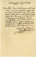 Continental Congress resolution, 1776
