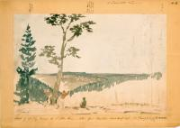 Sketch of country toward the St. John River, ca. 1841