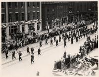 Parade through Portland, 1938
