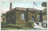 Public Library, Freeport, ca. 1920