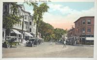 Post Office Square, Freeport, ca. 1930