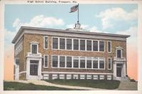 Freeport High School, ca. 1925