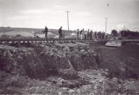 Damage Resulting from Hurricane Edna, Bangor and Aroostook Railroad, Maysville, 1954