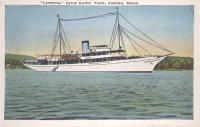 Lyndonia, Cyrus Curtis yacht, Camden, ca. 1925