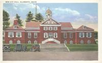 Ellsworth City Hall, ca. 1935