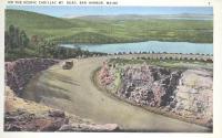 Cadillac Mountain road, Acadia National Park, ca. 1935