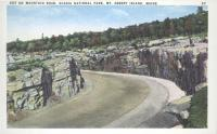 Mountain road, Acadia National Park, ca. 1935