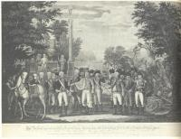 British surrender to George Washington, 1781