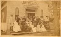 Dining Hall, Chautauqua, Fryeburg, 1889