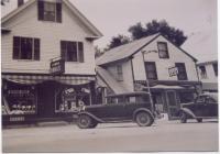 C. T. Ladd's Drugstore, Fryeburg, 1937