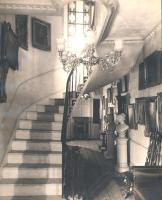 Hallway, Asa Clapp House, Portland, ca. 1900