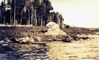 The Sphinx, Chamberlain Lake, 1911