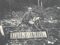 Charles B. Dunn with catch, 1894