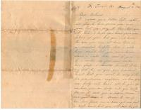 Lydia Jane Bradford to husband, Brattleboro Army Hospital, 1864