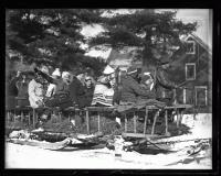 Fryeburg Ski transportation, 1936
