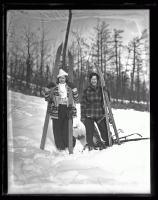 Skiers at Jockey Cap, 1936