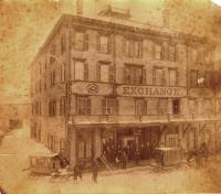 Exchange Hotel, Court Street, Houlton, ca. 1890
