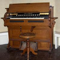 Pump Organ from North Sebago Methodist Church
