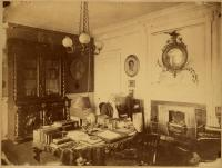 Longfellow in his Study, Cambridge, ca. 1875